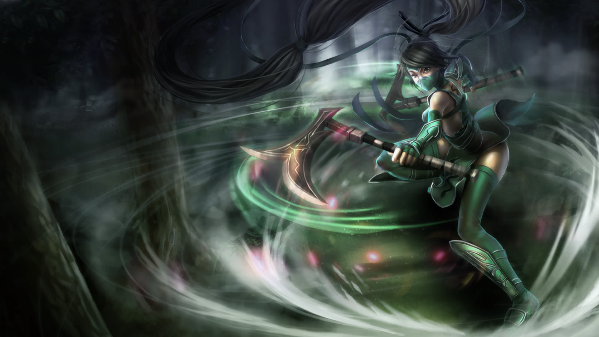Akali Classic Skin Chinese 2 League Of Legends Wallpapers