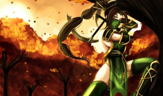 Akali Redesign Wallpaper by Hannah515