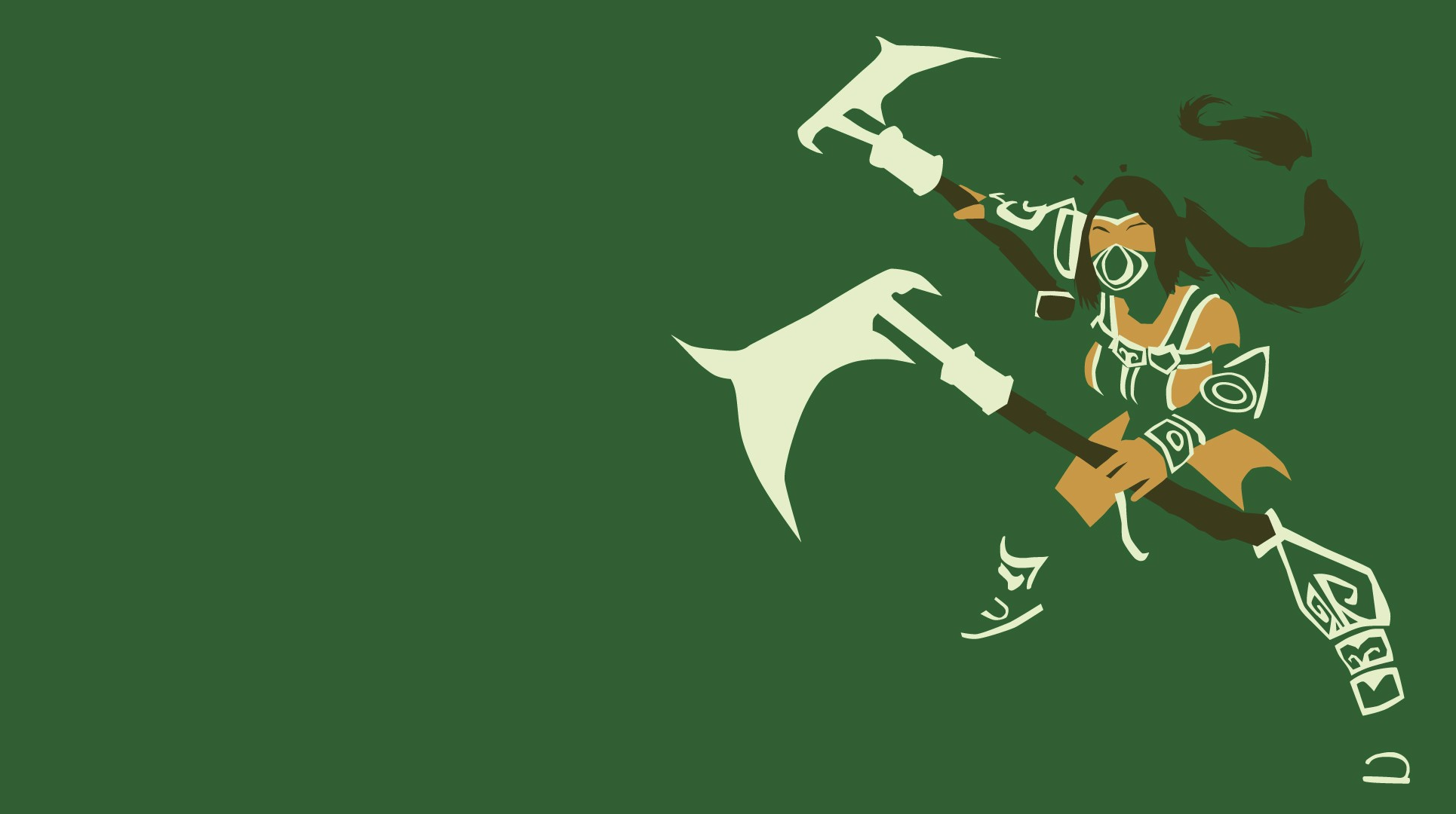 Akali Wallpaper by Sovietpancake