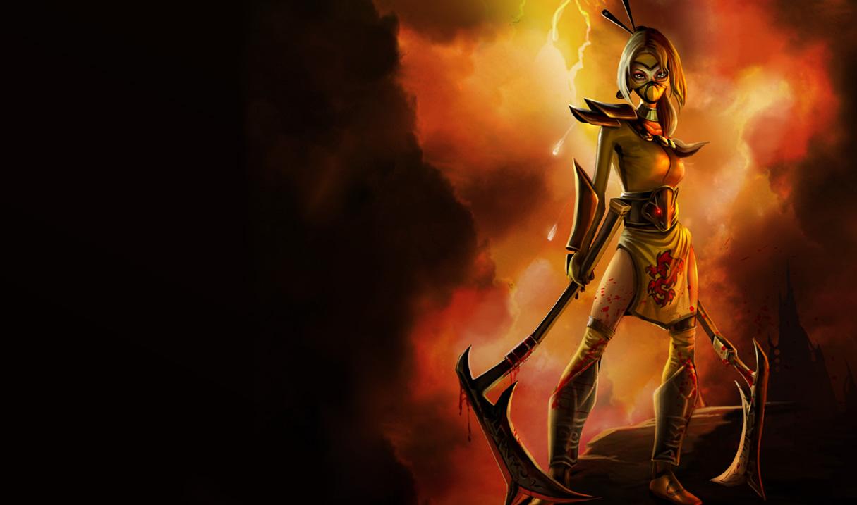 Stinger Akali Skin - League of Legends Wallpapers