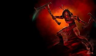 Crimson Akali Skin - Old