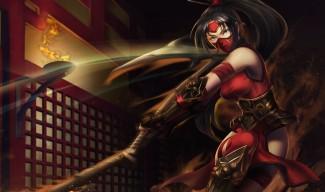 Crimson Akali Skin - Chinese