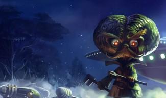 Alien Invader Heimerdinger Skin