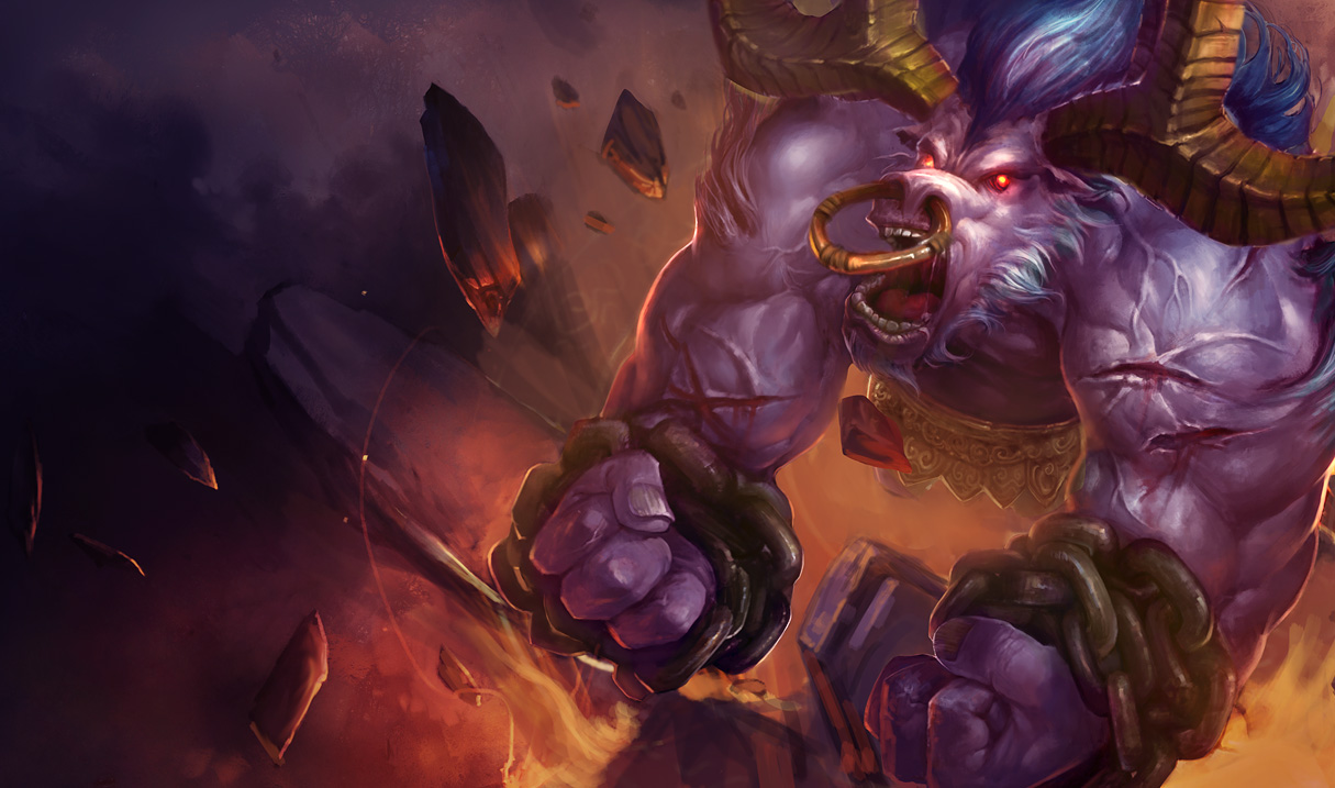 alistar classic skin old 2 league of legends wallpapers
