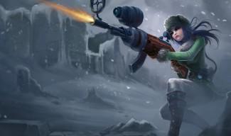 Arctic Warfare Caitlyn Skin