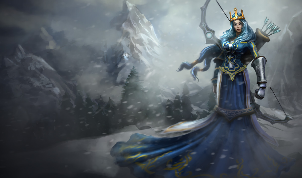 Queen Ashe Skin - Old