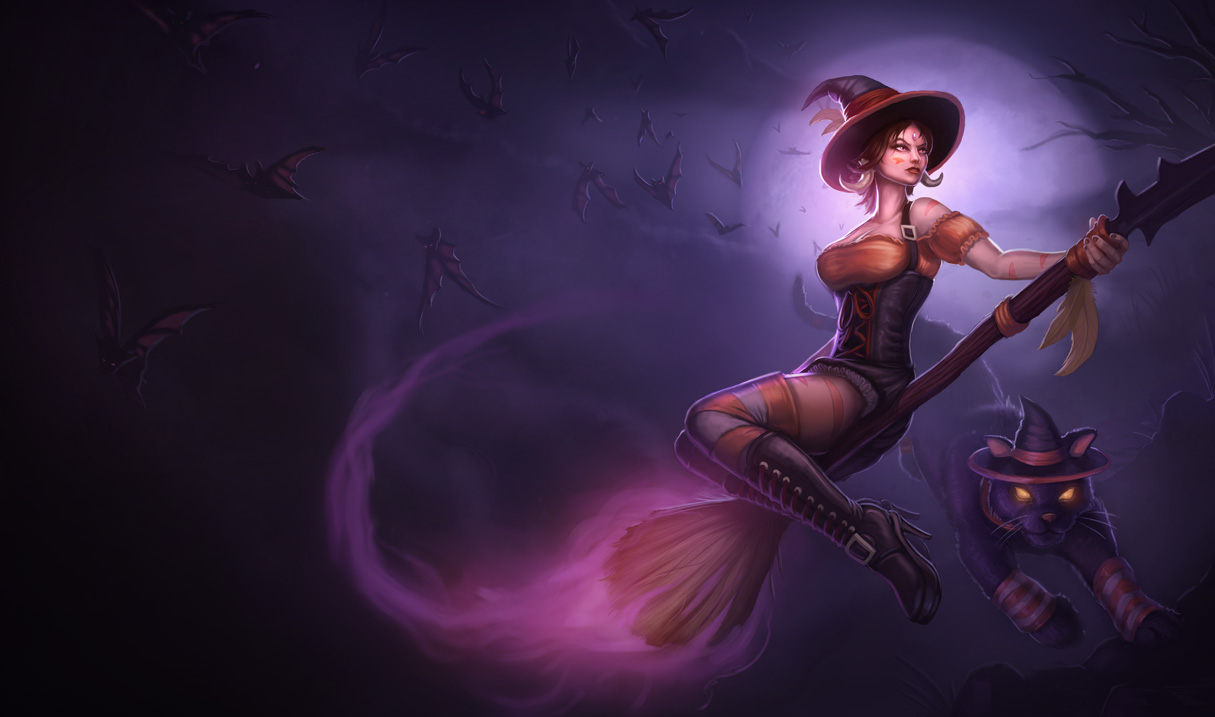 Bewitching Nidalee Skin League Of Legends Wallpapers