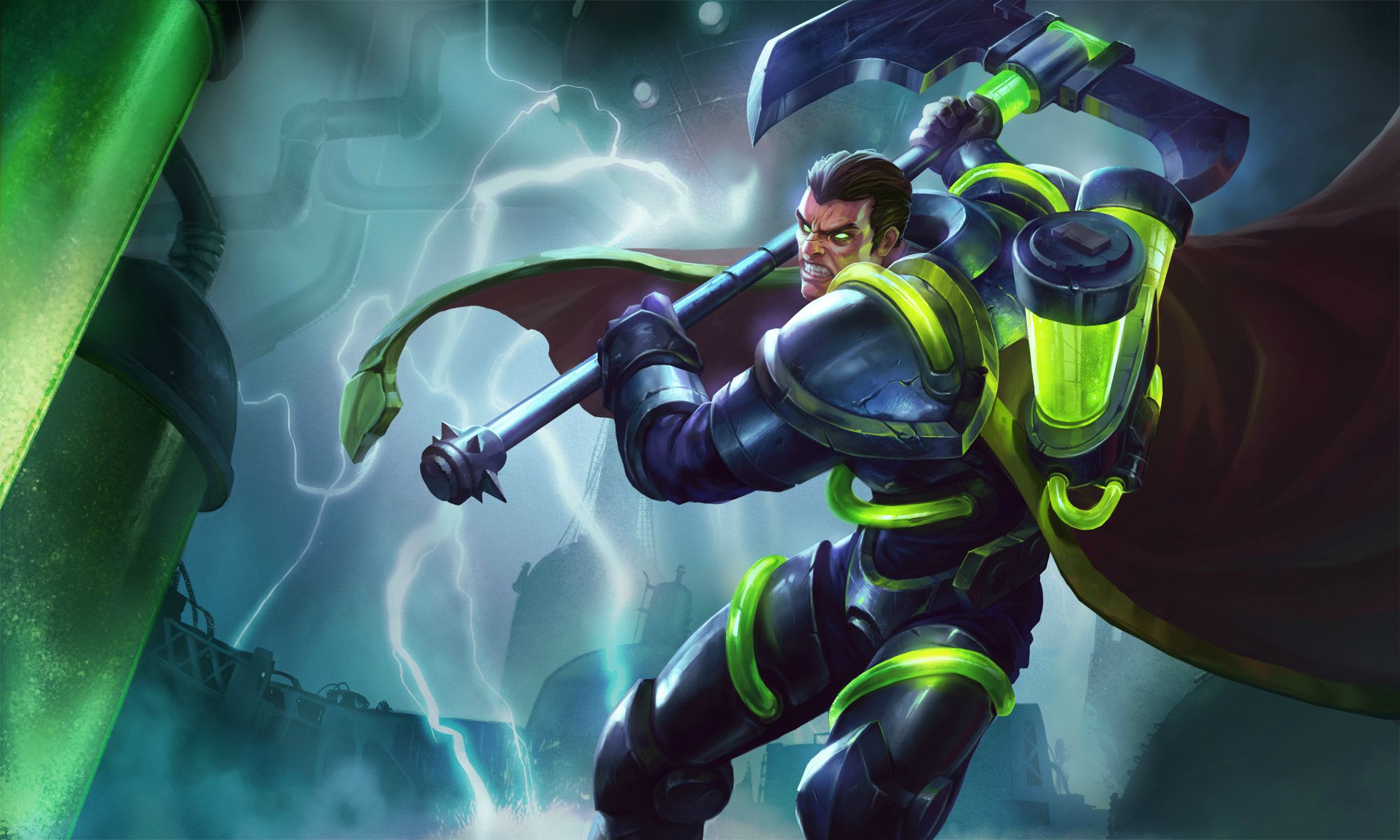 Darius League Of Legends Wallpapers