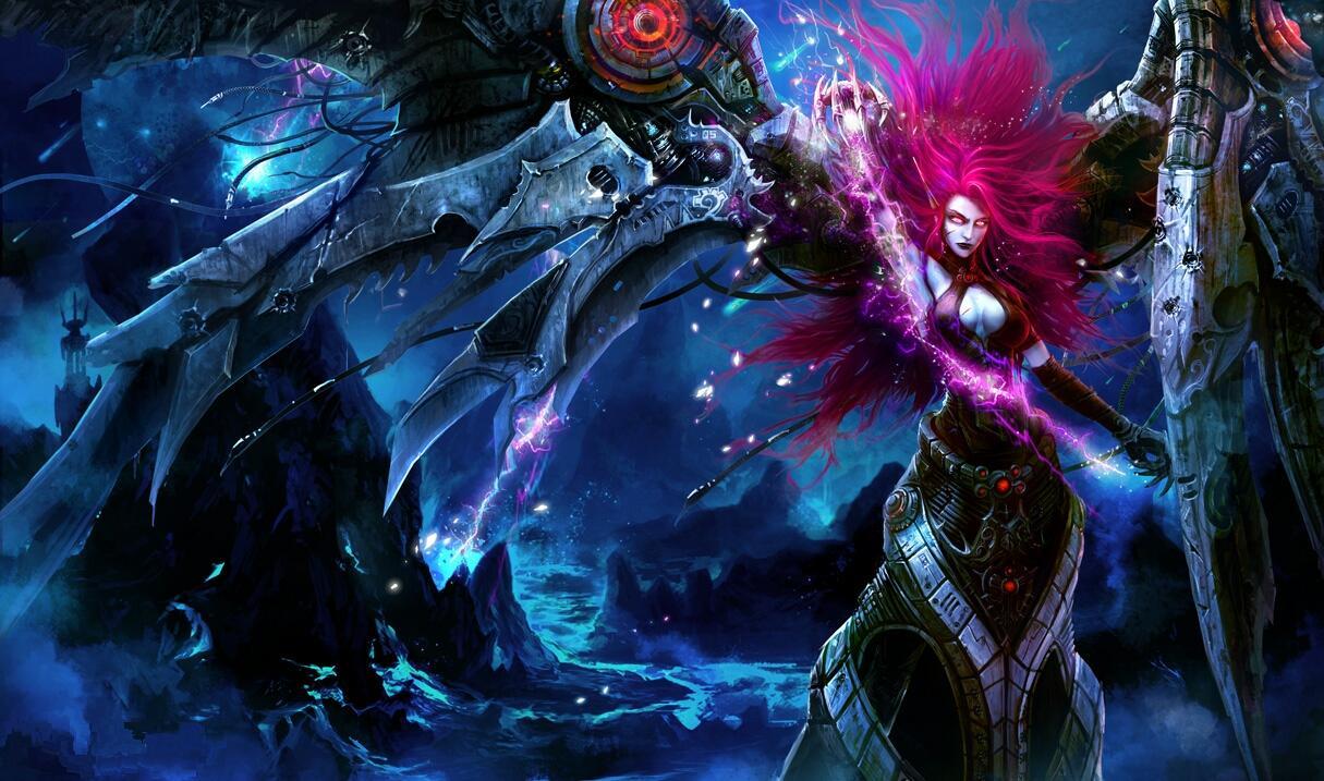 Blade Mistress Morgana - Chinese