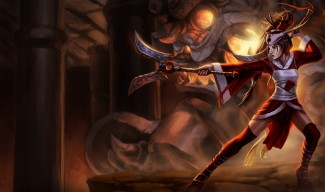 Blood Moon Akali Skin - Original (NA)