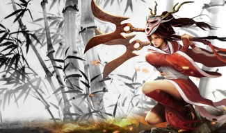 Blood Moon Akali Skin - Chinese