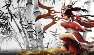 Blood Moon Akali Skin - Chinese