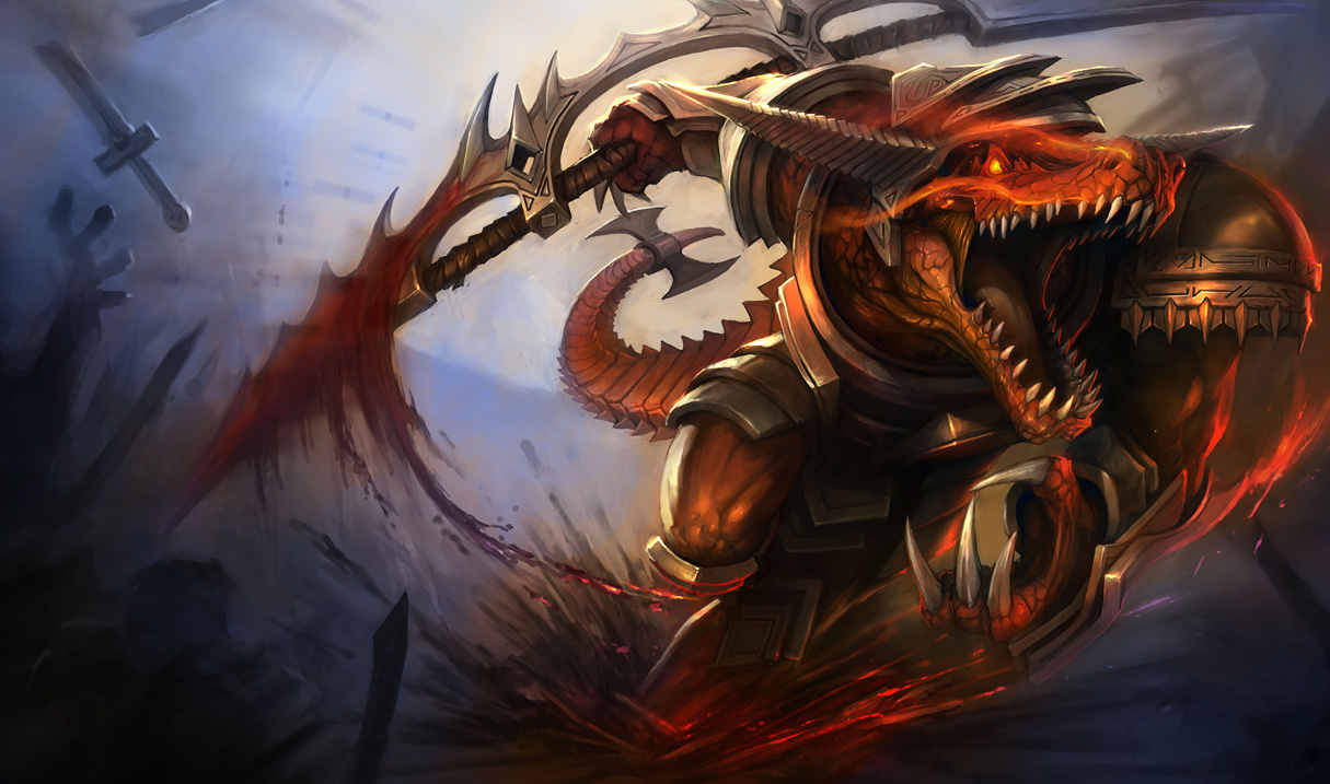 Bloodfury Renekton Skin - Updated