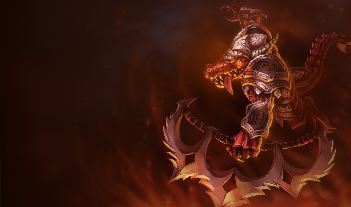 Bloodfury Renekton Skin - Old