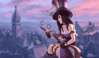 Caitlyn wallpaper by Tsuaii