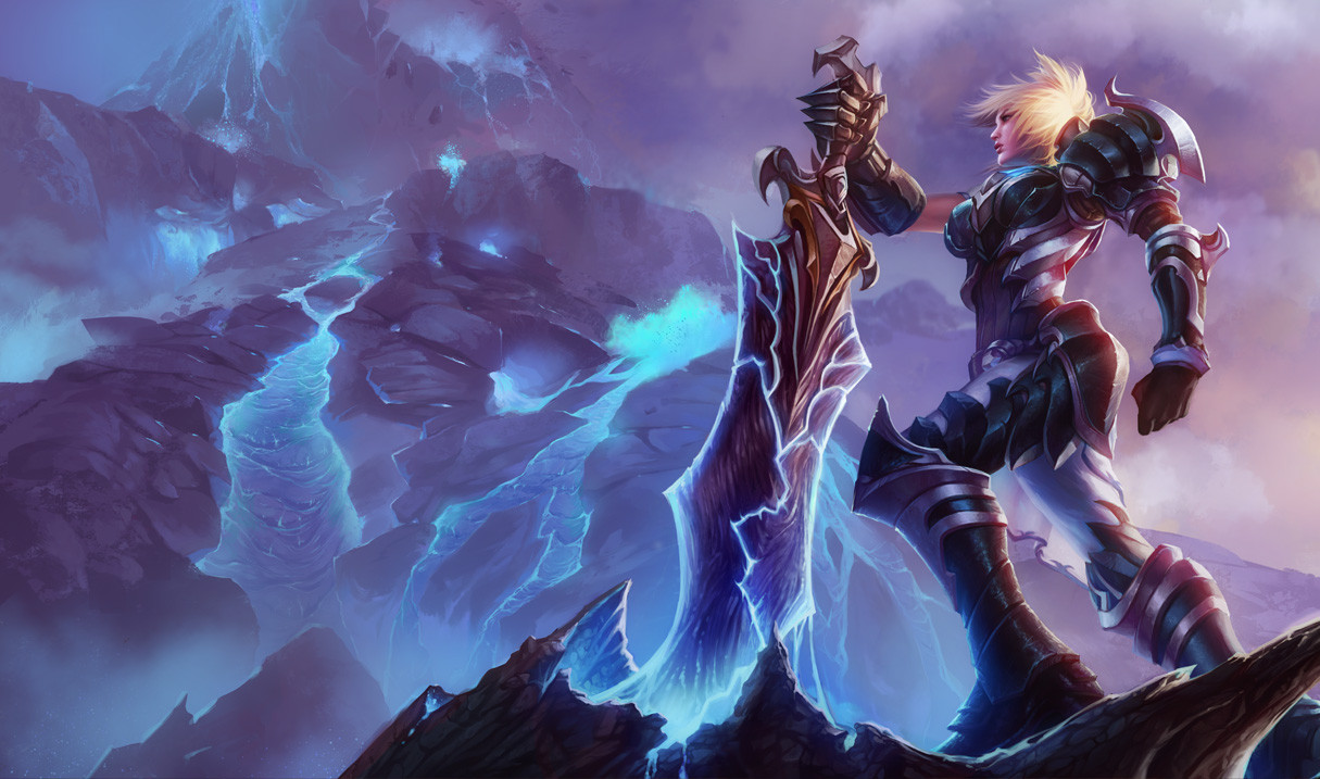 Championship Riven Skin - League of Legends Wallpapers