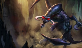 Nightmare Cho'Gath - Chinese Art