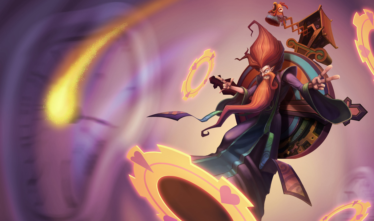 Groovy Zilean Skin - Chinese