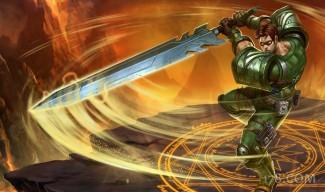 Commando Garen Skin - Chinese (2)