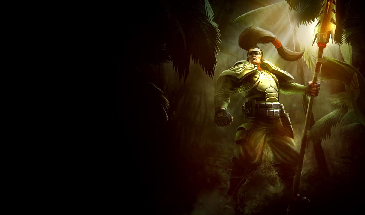 Commando Xin Zhao Skin