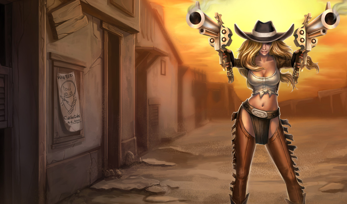 Cowgirl Miss Fortune Skin - Chinese