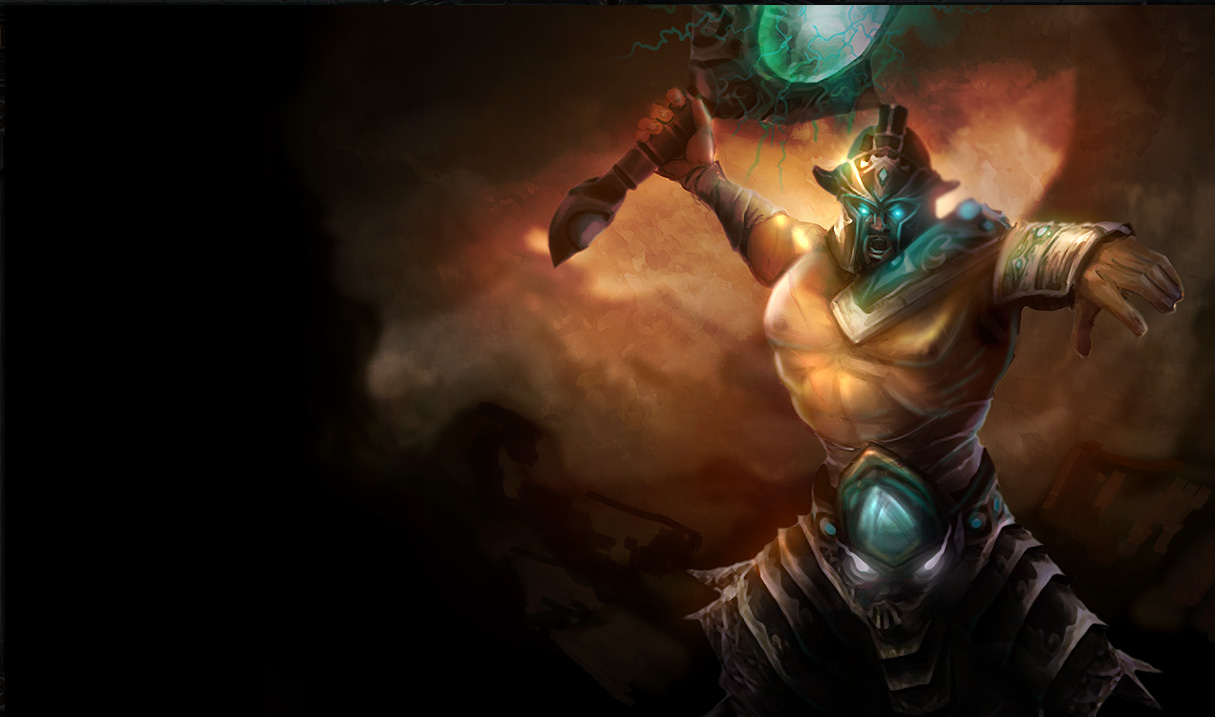Tryndamere Classic Skin - Old