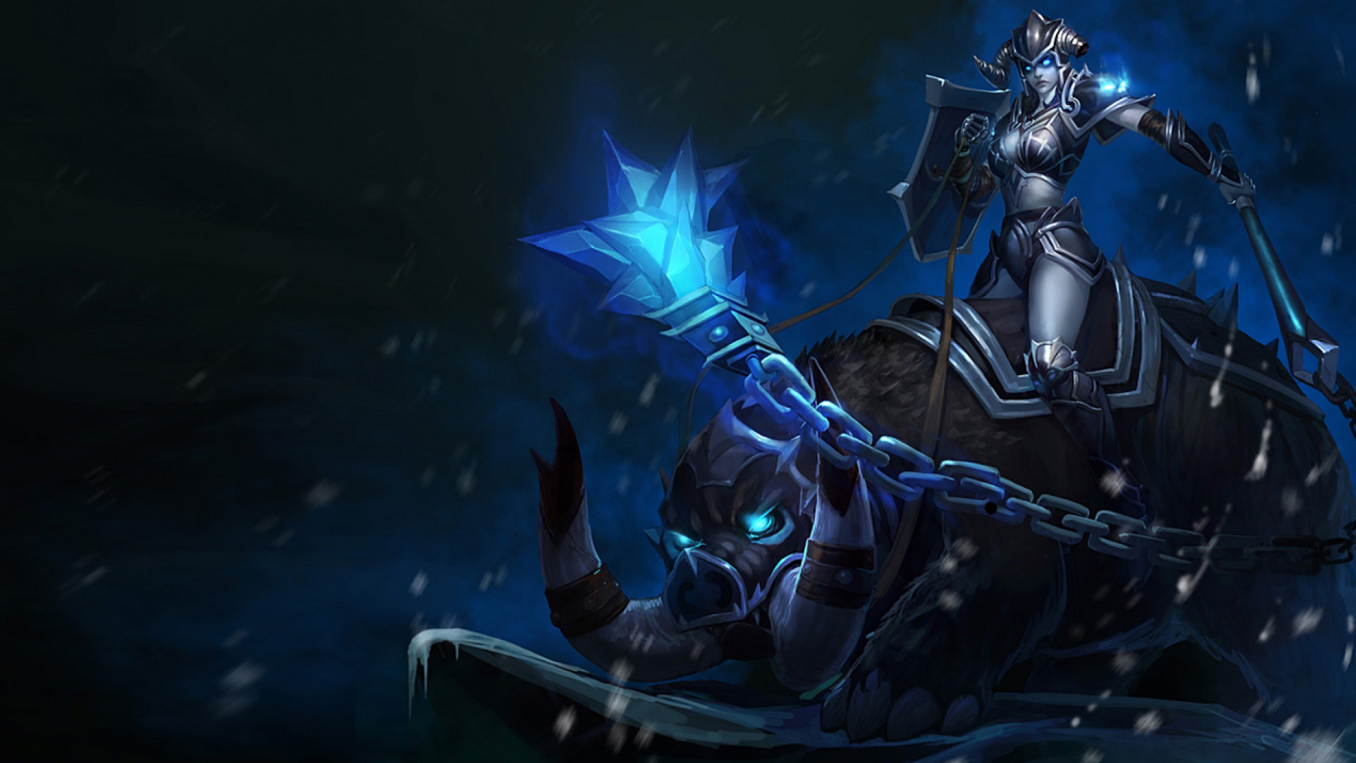 Darkrider Sejuani Chinese League Of Legends Wallpapers