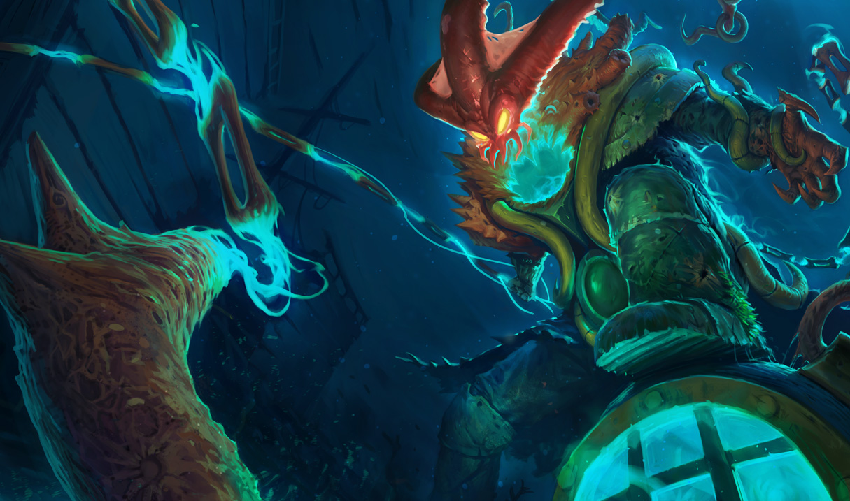 Deep Terror Thresh Skin Original League Of Legends Wallpapers