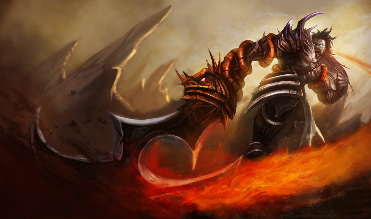 Demonblade Tryndamere Skin - League of Legends Wallpapers