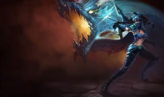 Dragonslayer Vayne Skin