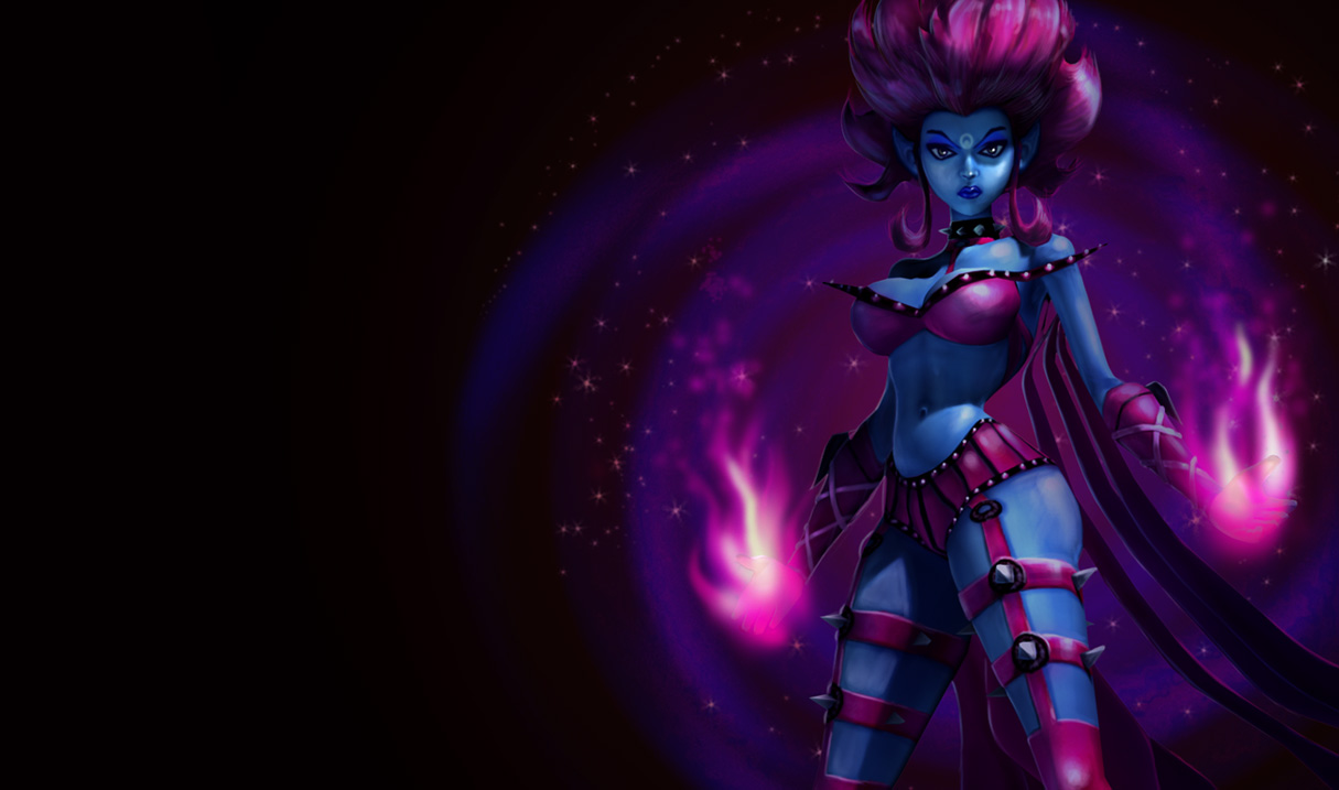 Evelynn Classic Skin Old League Of Legends Wallpapers