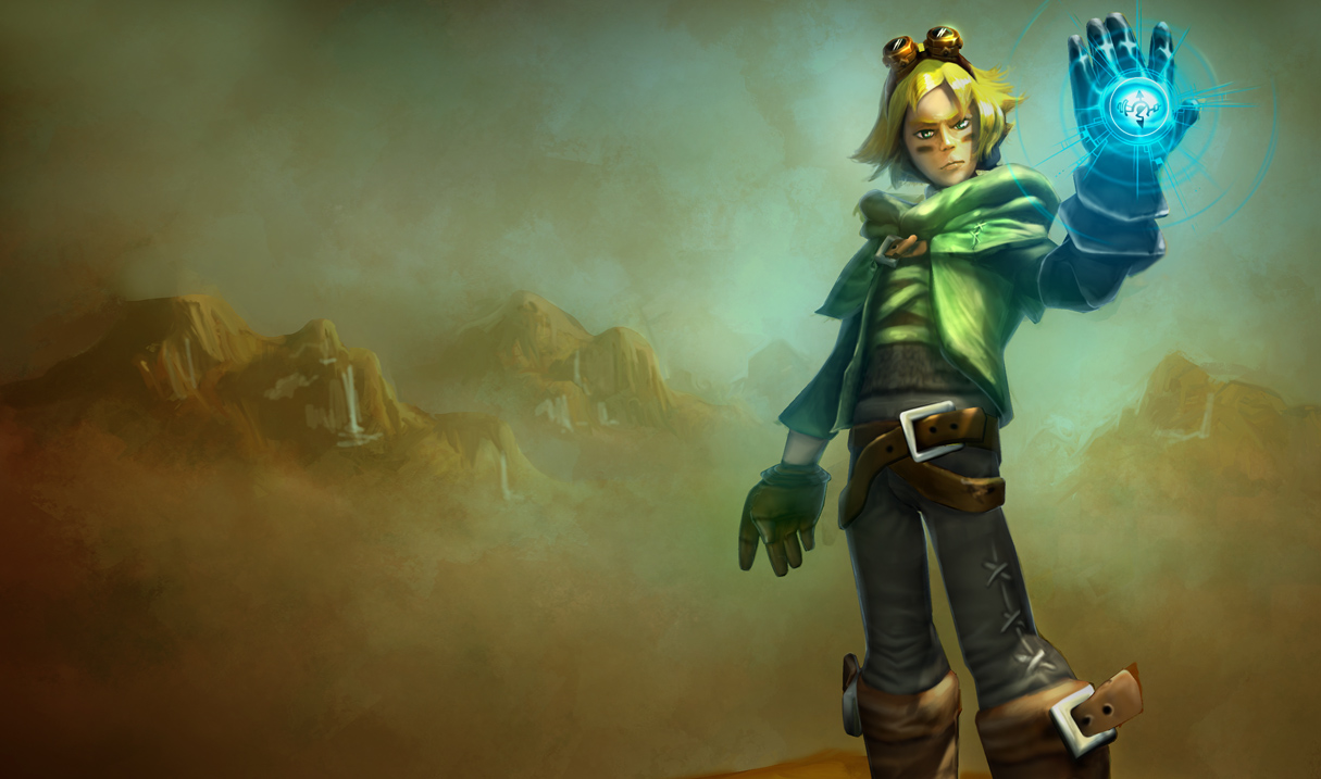 Nottingham Ezreal Skin (Original Splash)