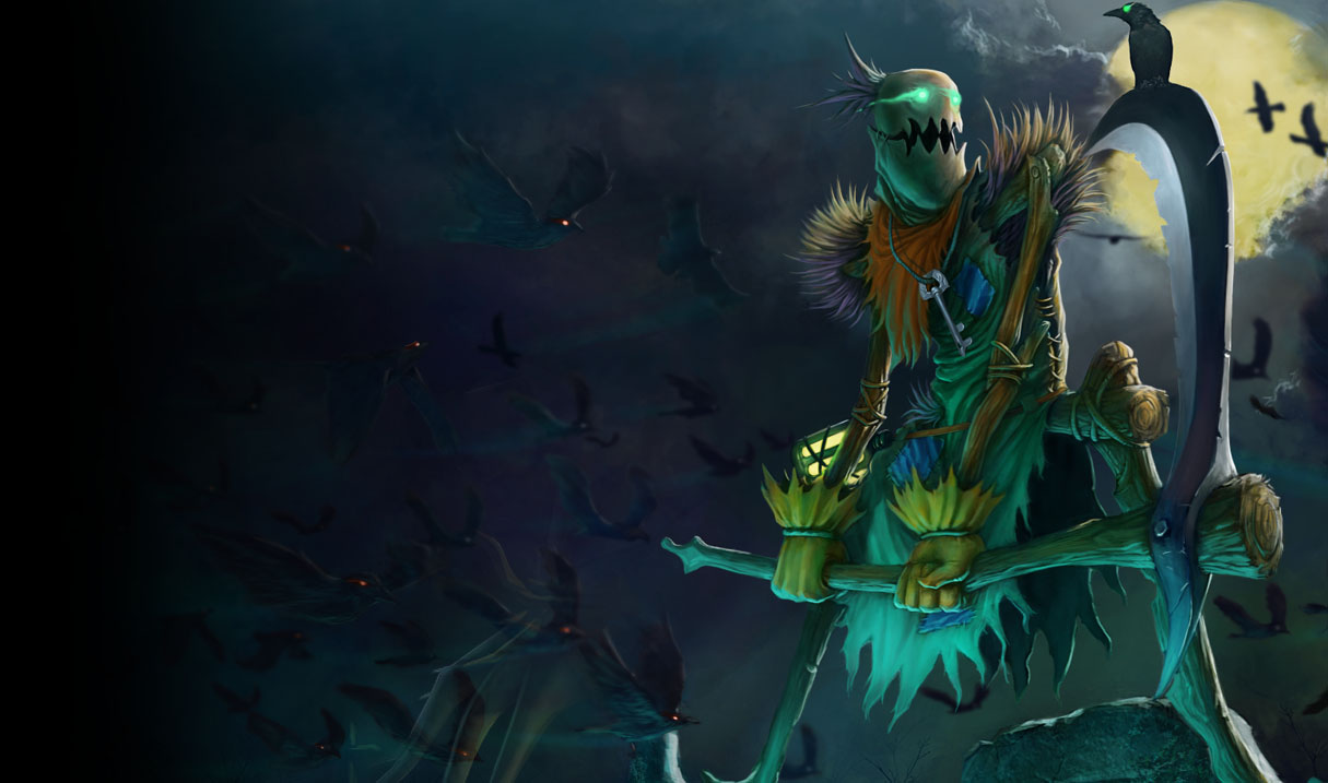 Fiddlesticks League Of Legends Wallpapers
