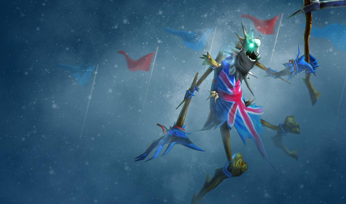 Union Jack Fiddlesticks Skin