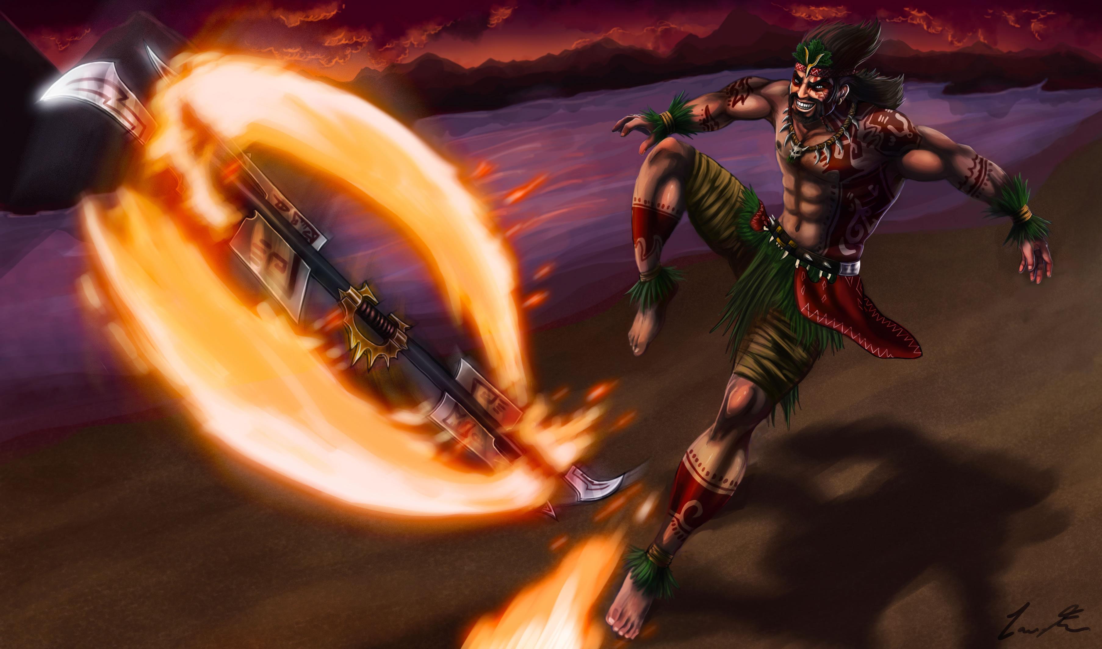 Firedancer Draven by Dargonite (2)