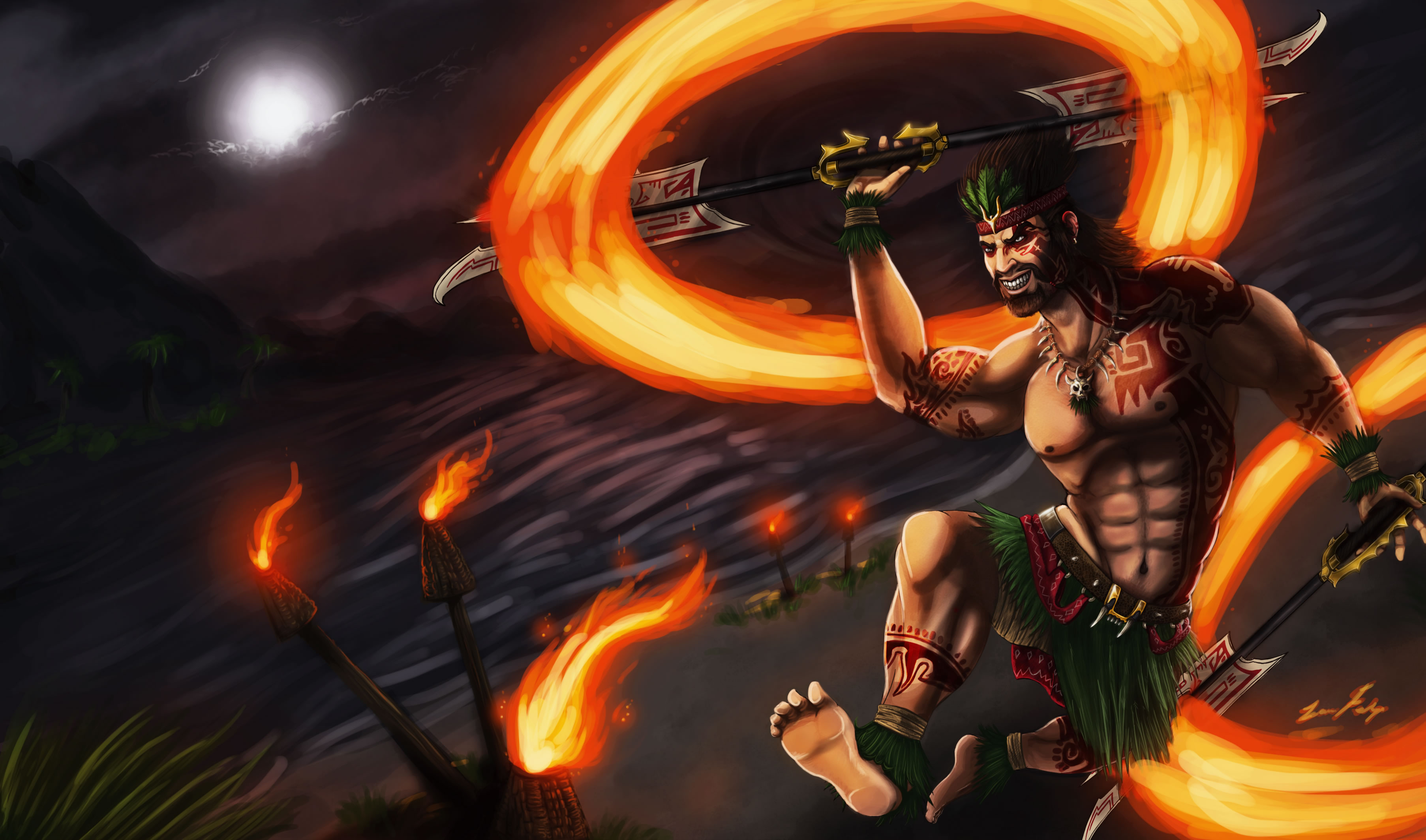 Firedancer Draven by Dargonite (1)