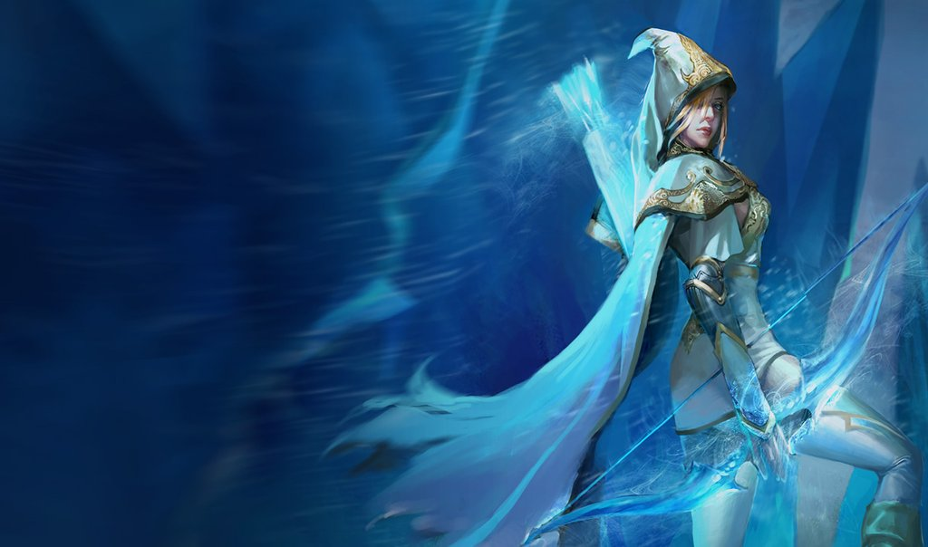 Freljord Ashe Splash (Reworked, Chinese)