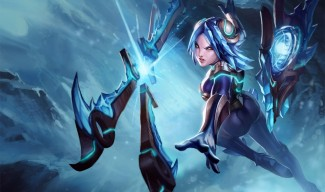 Frostblade Irelia Splash Art