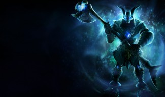 Galactic Nasus Skin Splash Art