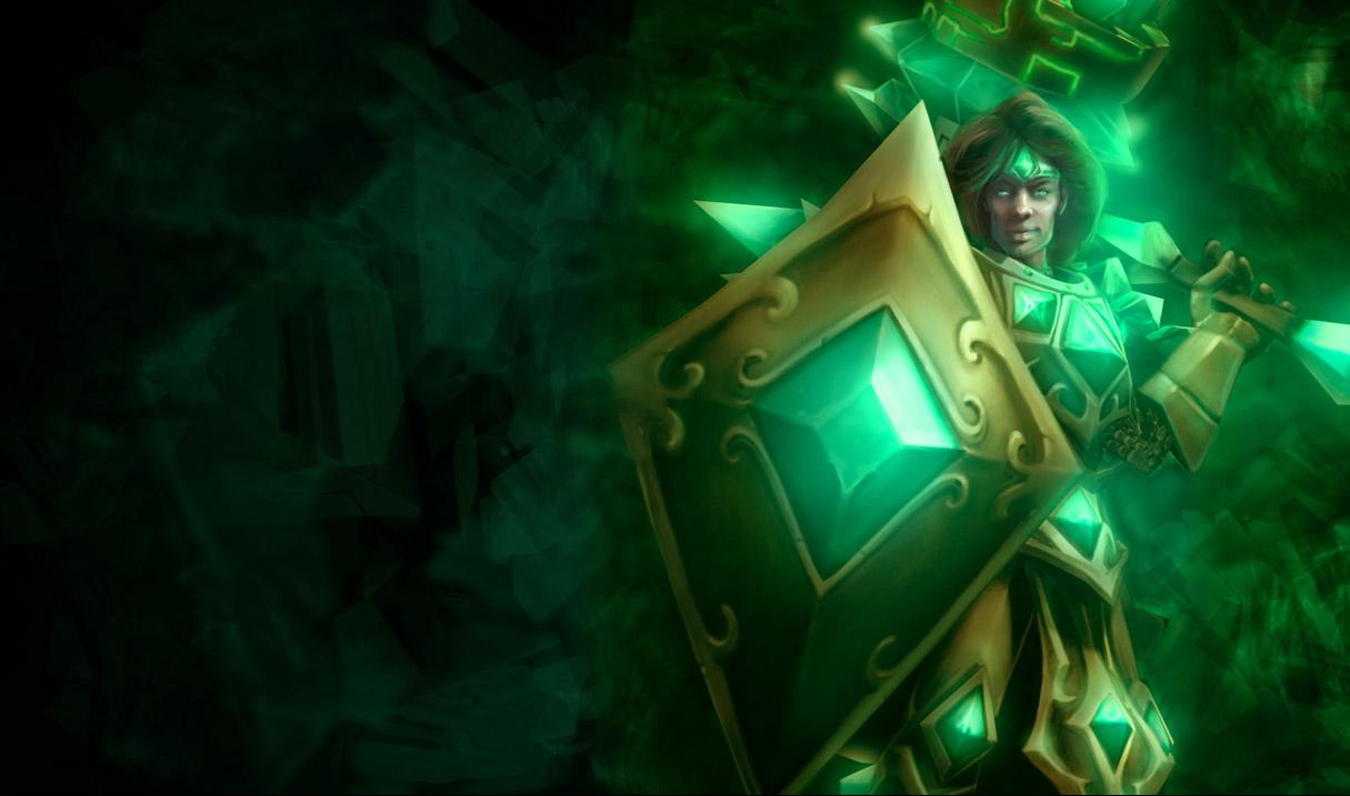 Emerald Taric Skin