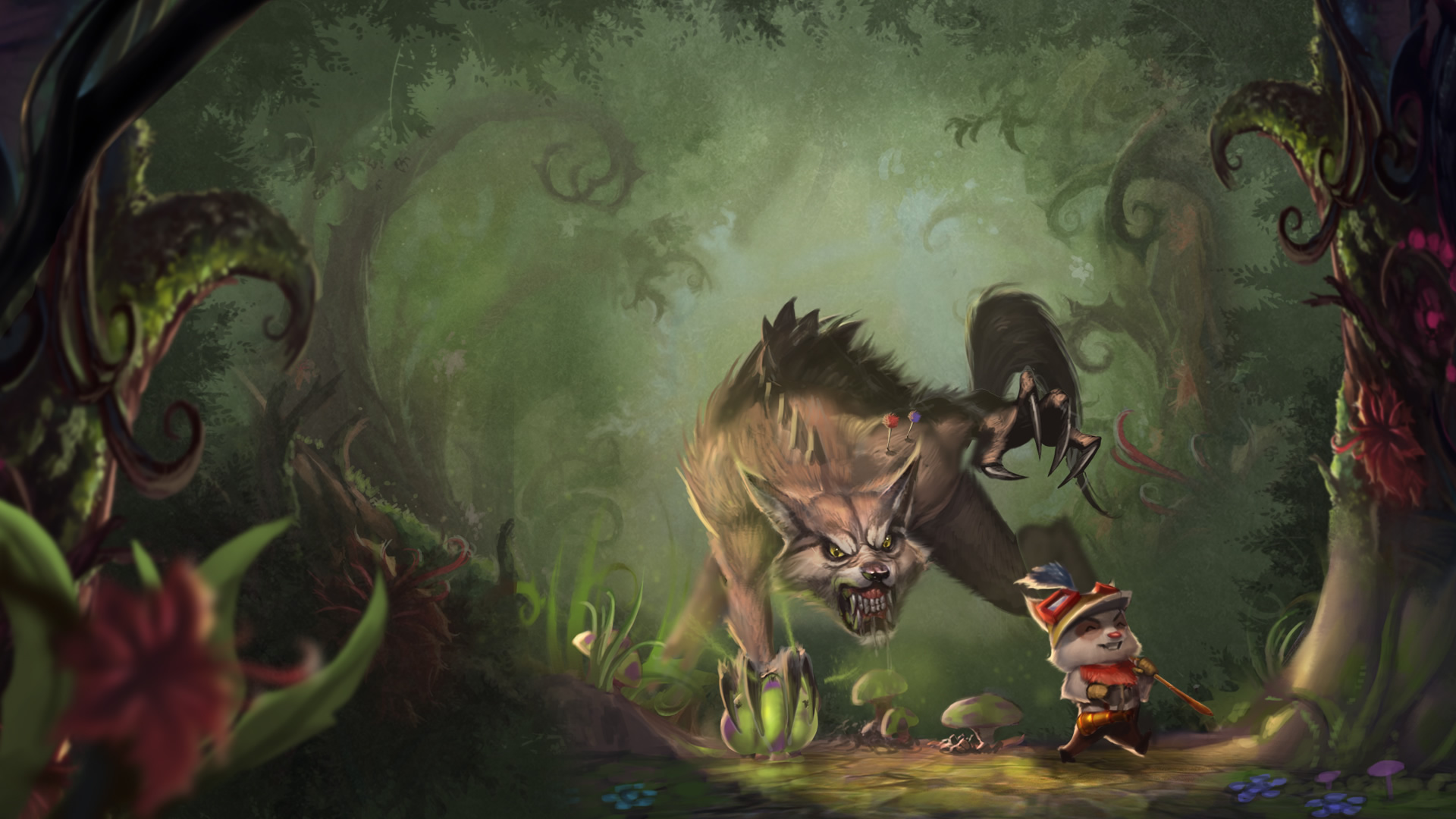 Great Hunt Teemo Wallpaper League Of Legends Wallpapers