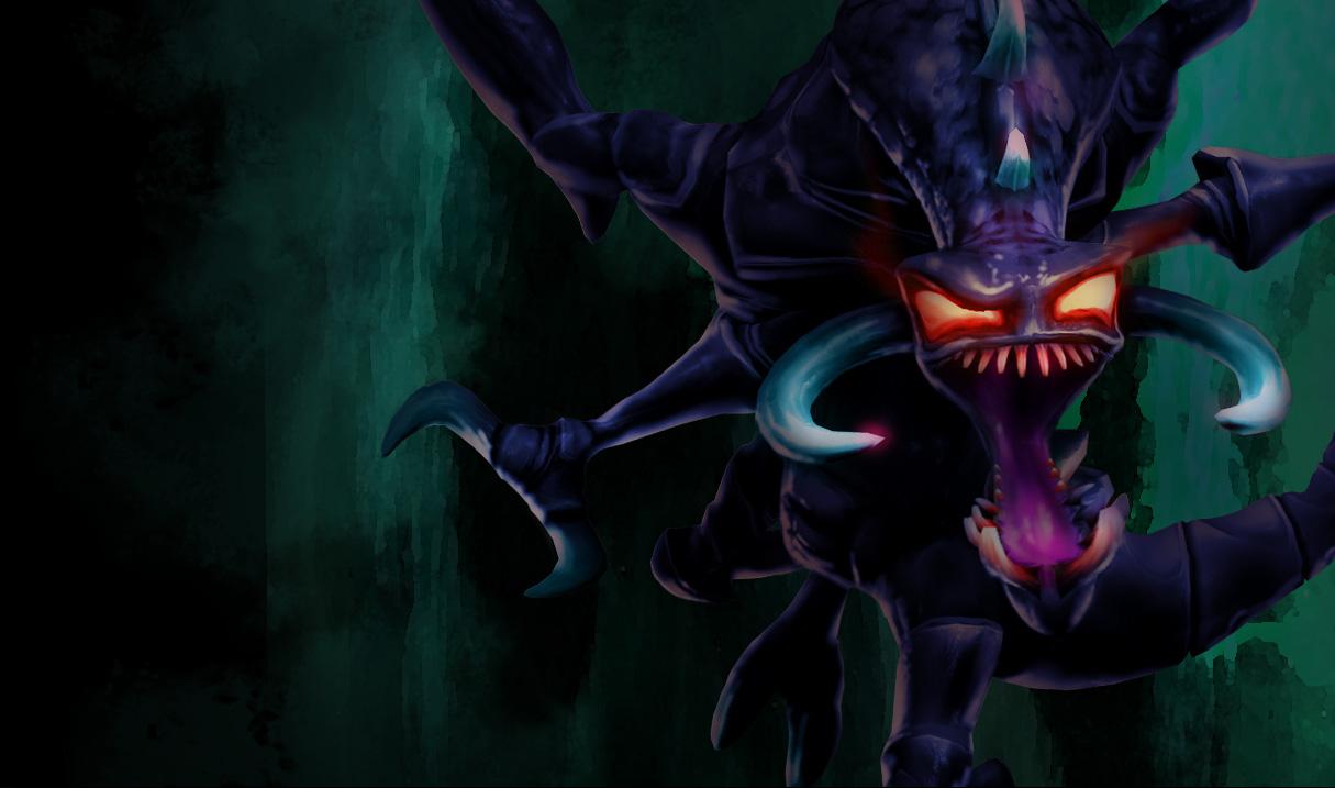 Nightmare Cho'Gath Splash Art