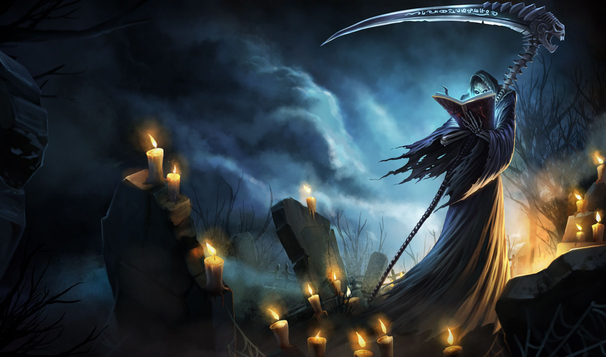 Grim Reaper Karthus Skin - Chinese