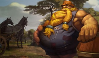 Hillbilly Gragas Skin - Chinese