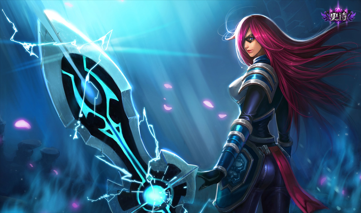 Infiltrator Irelia Skin Chinese League Of Legends Wallpapers