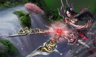 Irelia Classic Skin - Chinese