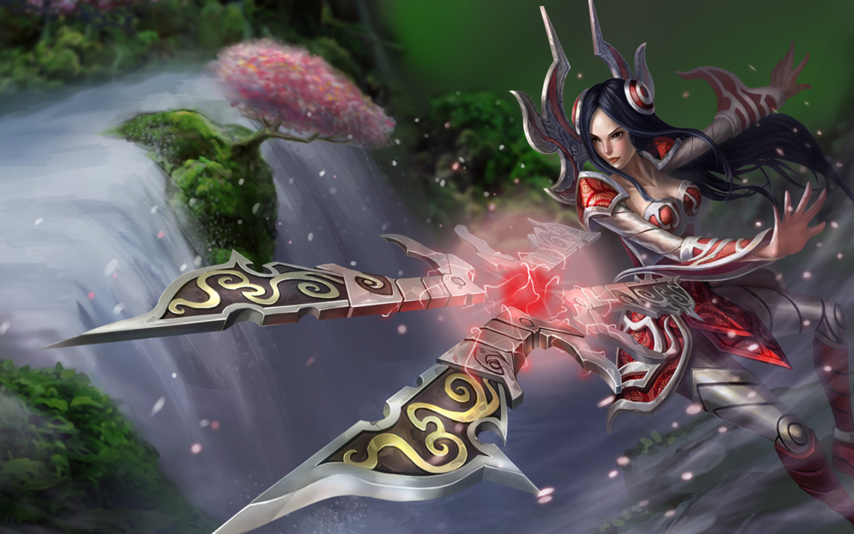 Irelia Classic Skin Chinese League Of Legends Wallpapers