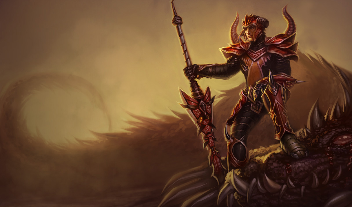 Dragon Slayer Jarvan IV Skin