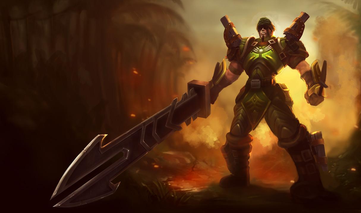 commando jarvan iv skin original league of legends