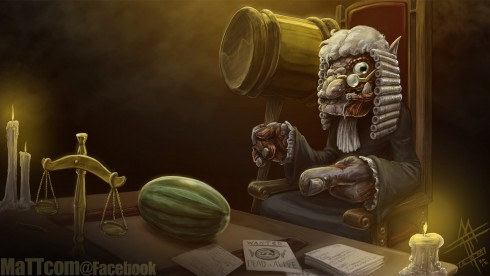 Judge Trundle Fanart